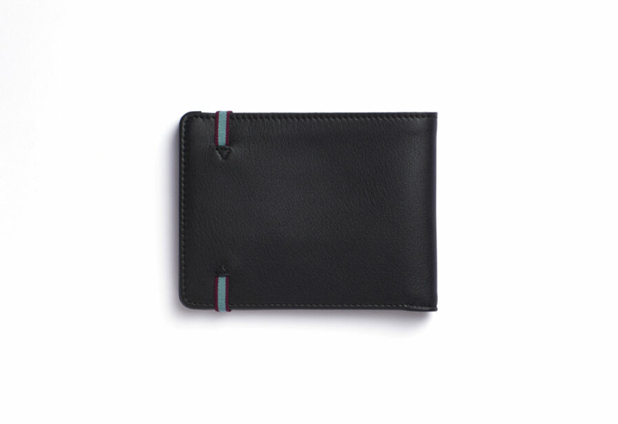 Black Minimalist Wallet by Carré Royal Back (LA902 Noir)