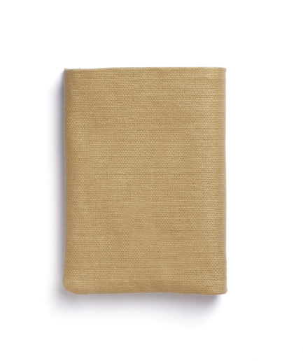 Beige Canvas Wallet by Carré Royal Closed (JA104-Beige)