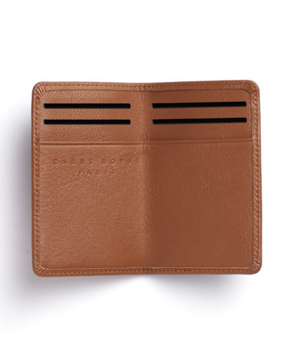 Gold Card Holder by Carré Royal Open (LA024-Gold)