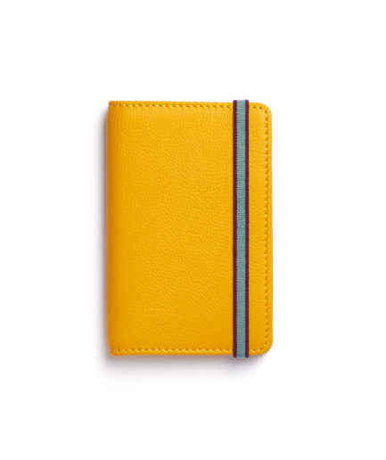 Yellow Card Holder by Carré Royal Front (LA024-Jaune)