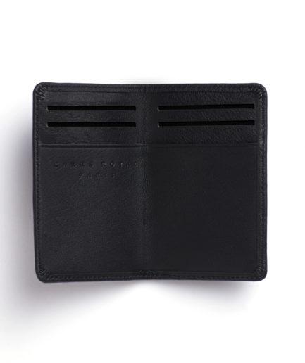 Black Card Holder by Carré Royal Open (LA024-Noir)