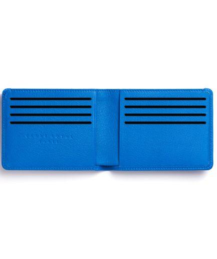 Light Blue Minimalist Wallet by Carré Royal Open (LA902-Bleu Ciel)