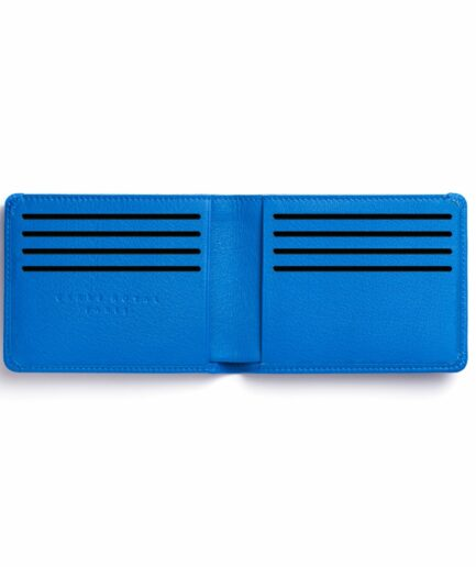 Light Blue Minimalist Wallet by Carré Royal Open (LA902 Bleu Ciel)
