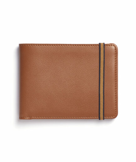 Gold Minimalist Wallet by Carré Royal Front (LA902 Gold)