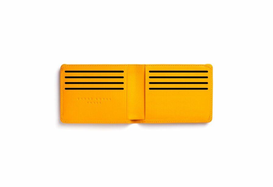 Yellow Minimalist Wallet by Carré Royal Open (LA902 Jaune)