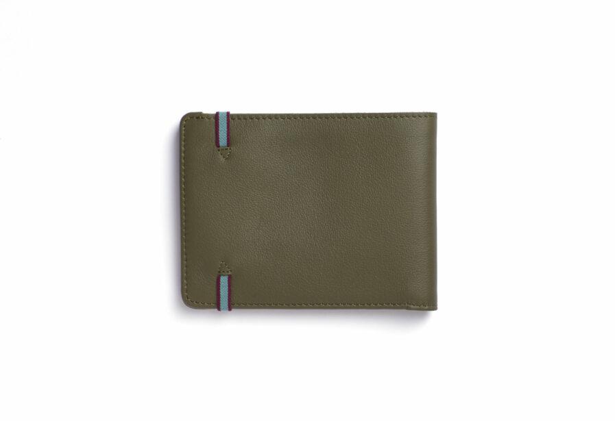 Kaki Minimalist Wallet by Carré Royal Back (LA902 Kaki)