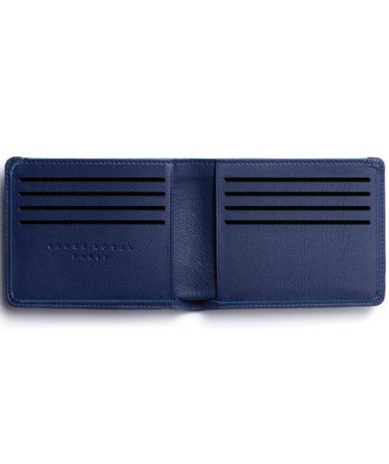 Navy Minimalist Wallet by Carré Royal Open (LA902-Marine)