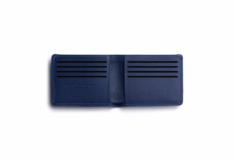 Navy Minimalist Wallet by Carré Royal Open (LA902 Marine)